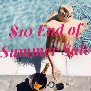 Summer Sale!!!! $10 Items
